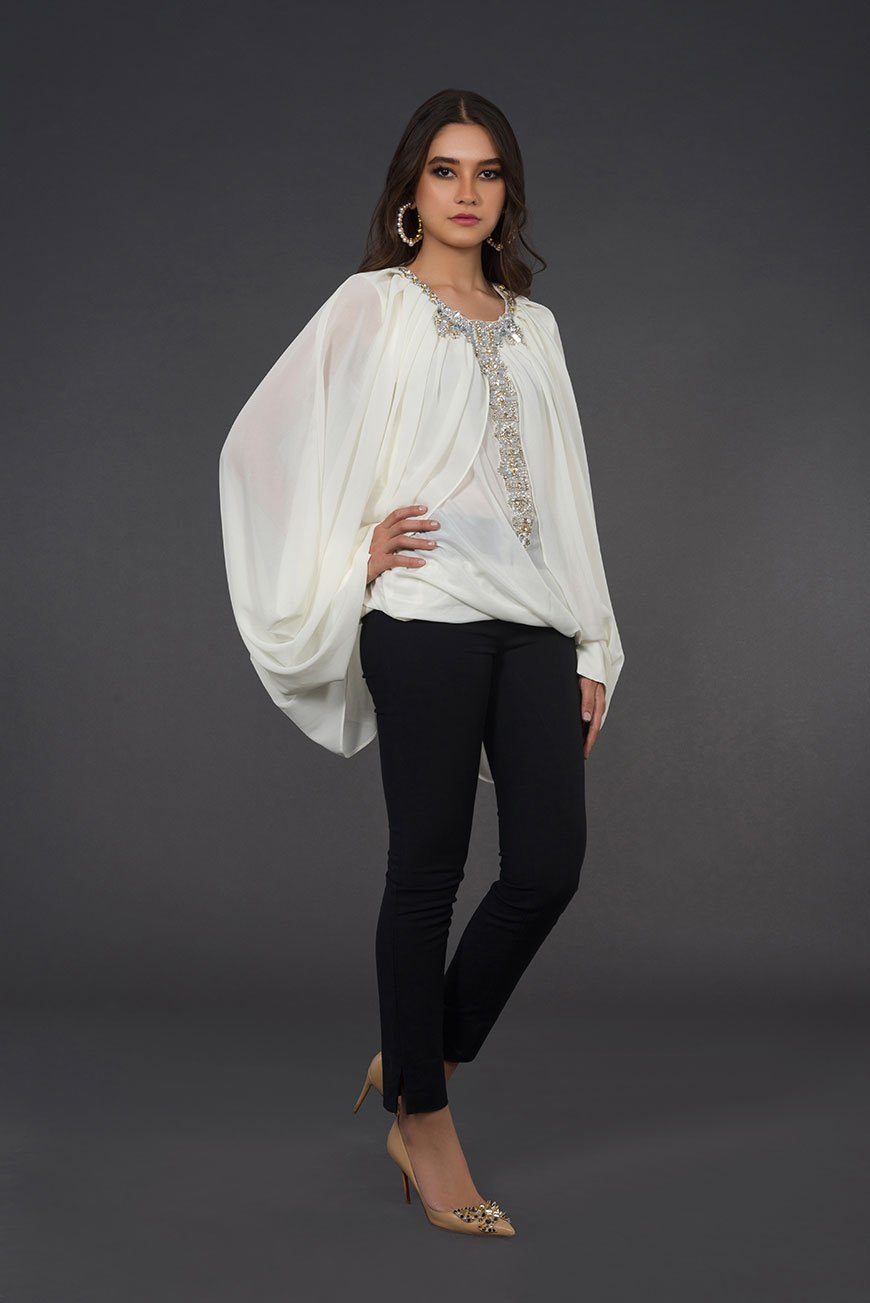 Draped-Chiffon-Top-1